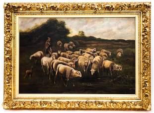 19th Century Pastoral Scene