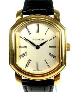 Tiffany & Co. 18k Gold Mens Watch