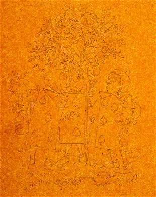 John Tenniel Alice in Wonderland Pencil Drawing