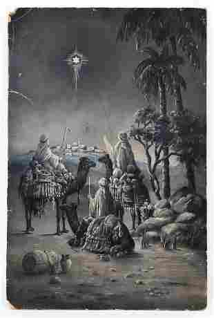 R.J. Dymond (British, Early 20th C.) Three Kings