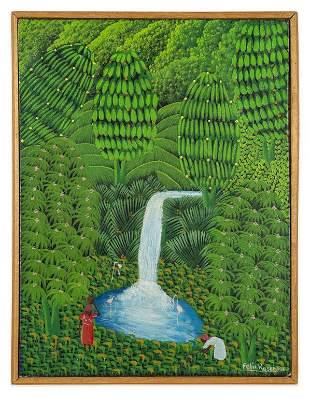 """Felix Rosemond (Haiti, 1962) """"Waterfall"""""""