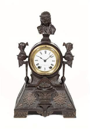 Antique Seth Thomas Egyptian Revival Mantle Clock