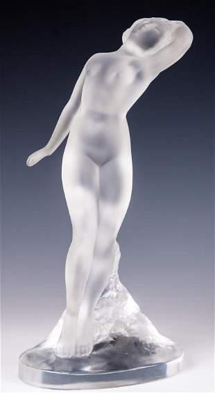 Lalique Danseuse Bras Baisse Nude Dancer