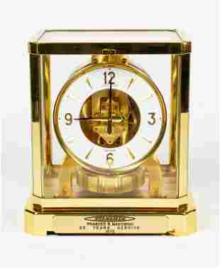 Jaeger Lecoultre Beaubourg 528 Atmos Clock