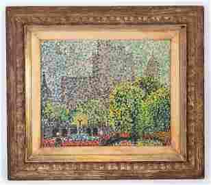 Impressionist NYC Landscape in Heydenryk Frame