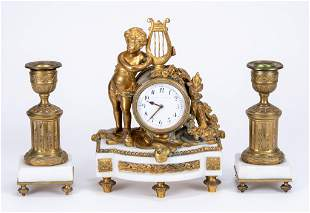 Theodore B. Starr Garniture Set