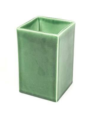Rookwood Art Pottery Green Glazed Planter