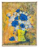 Signed Impasto Floral Still Life