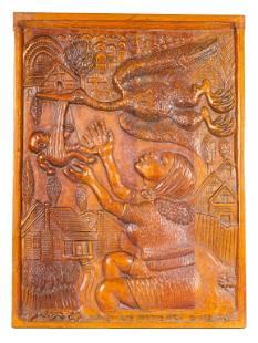 Daniel Pressley Wood Relief Carving