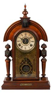 Ingraham Co. Pendulum Parlor Clock