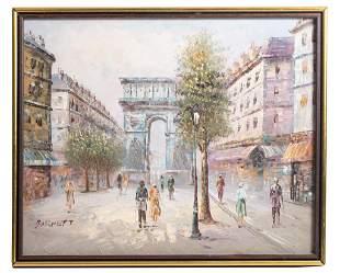 Caroline Burnett O/C Arc de Triomphe