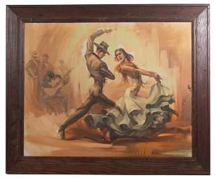 Vincent Sandoval, Spanish Dancers O/C