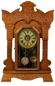 Seth Thomas 8 Day Gingerbread Clock