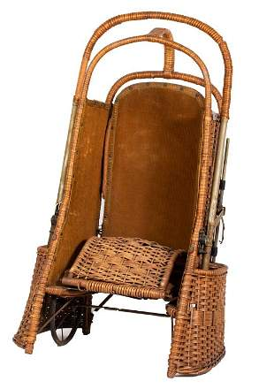 Withrow Oriole Go-Basket Convertible Stroller