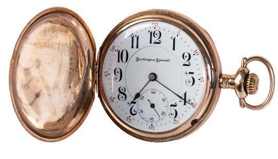Burlington Special 19J Gold Filled Pocket Watch