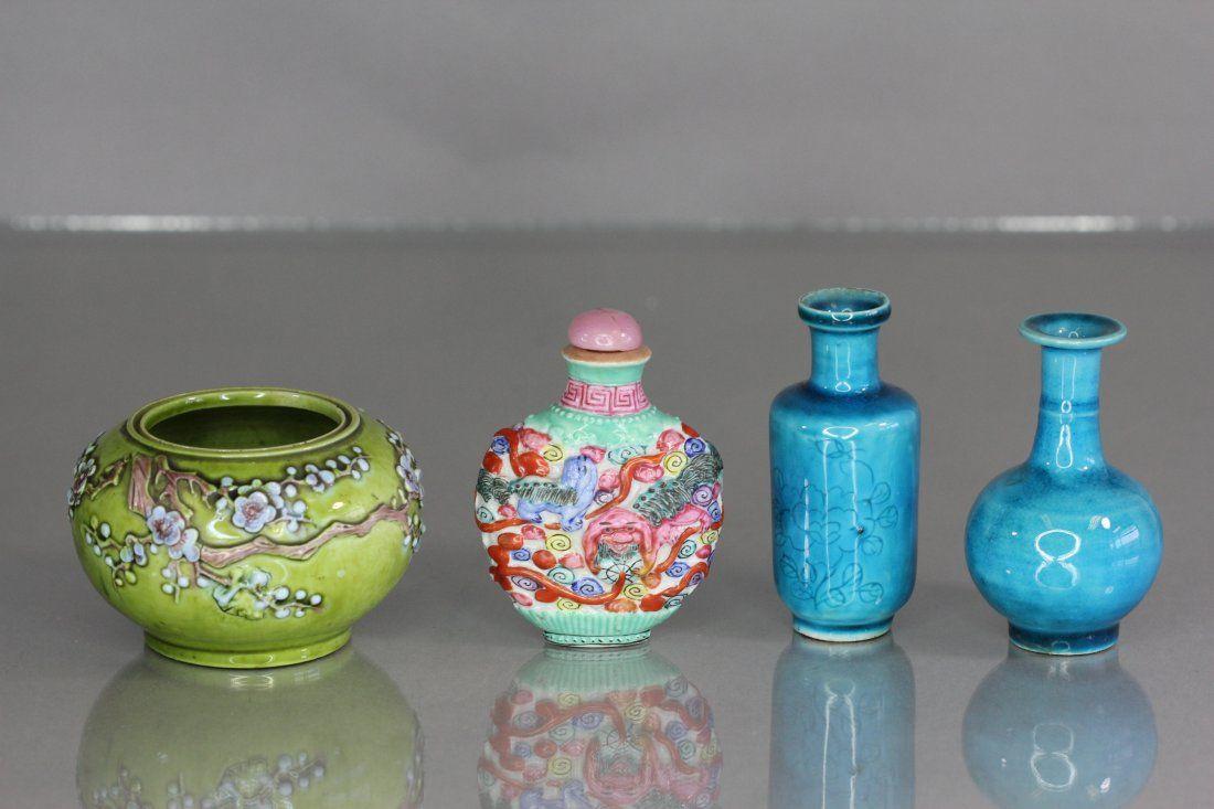 Lot of 4 Pieces porcelain