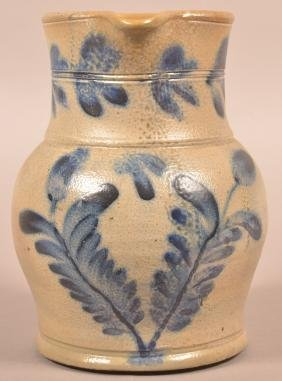 Stoneware Pitcher Attributed to Remmey.