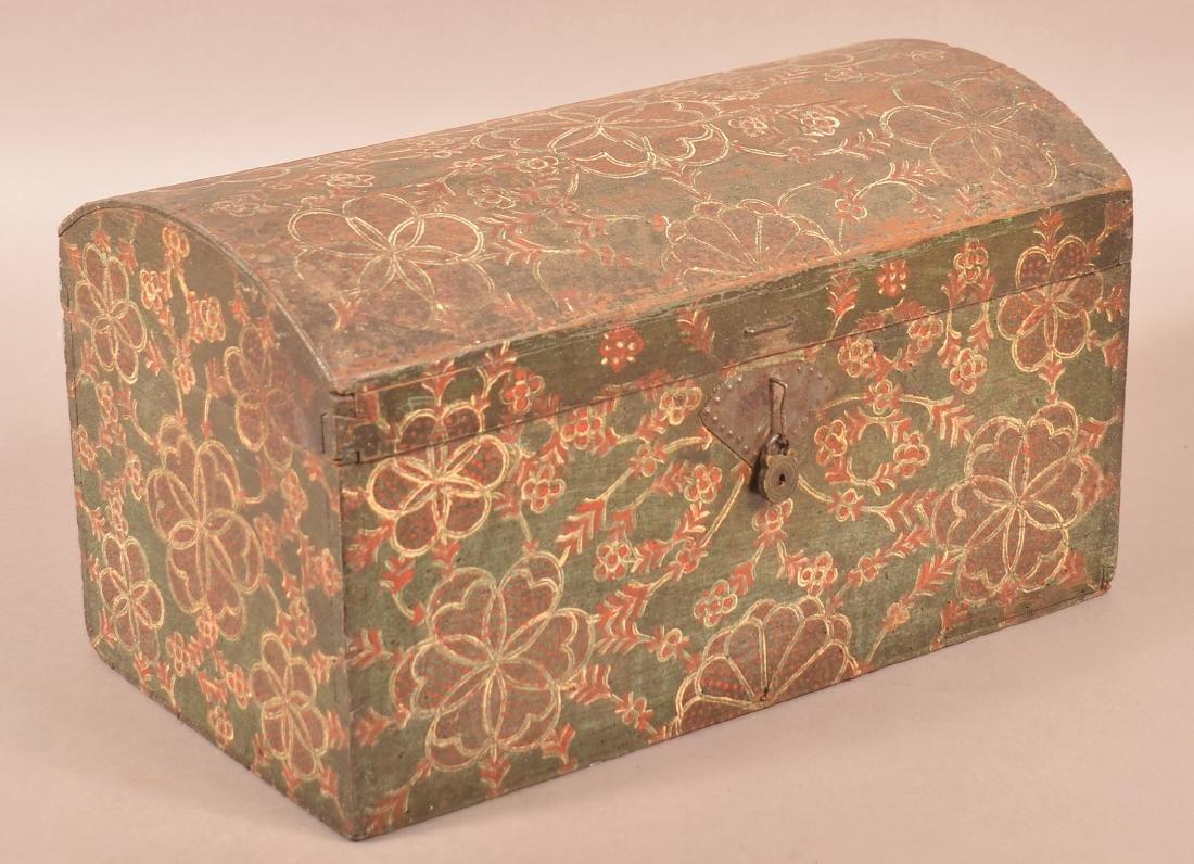 Lancaster, PA Compass Artist Dome Lid Box.