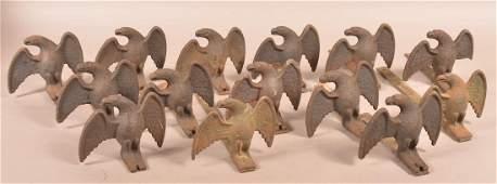 14 Cast Iron Spreadwing Eagle Snow Birds
