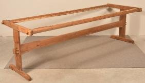 PA 19th Century Mixed Wood Quilting Rack.