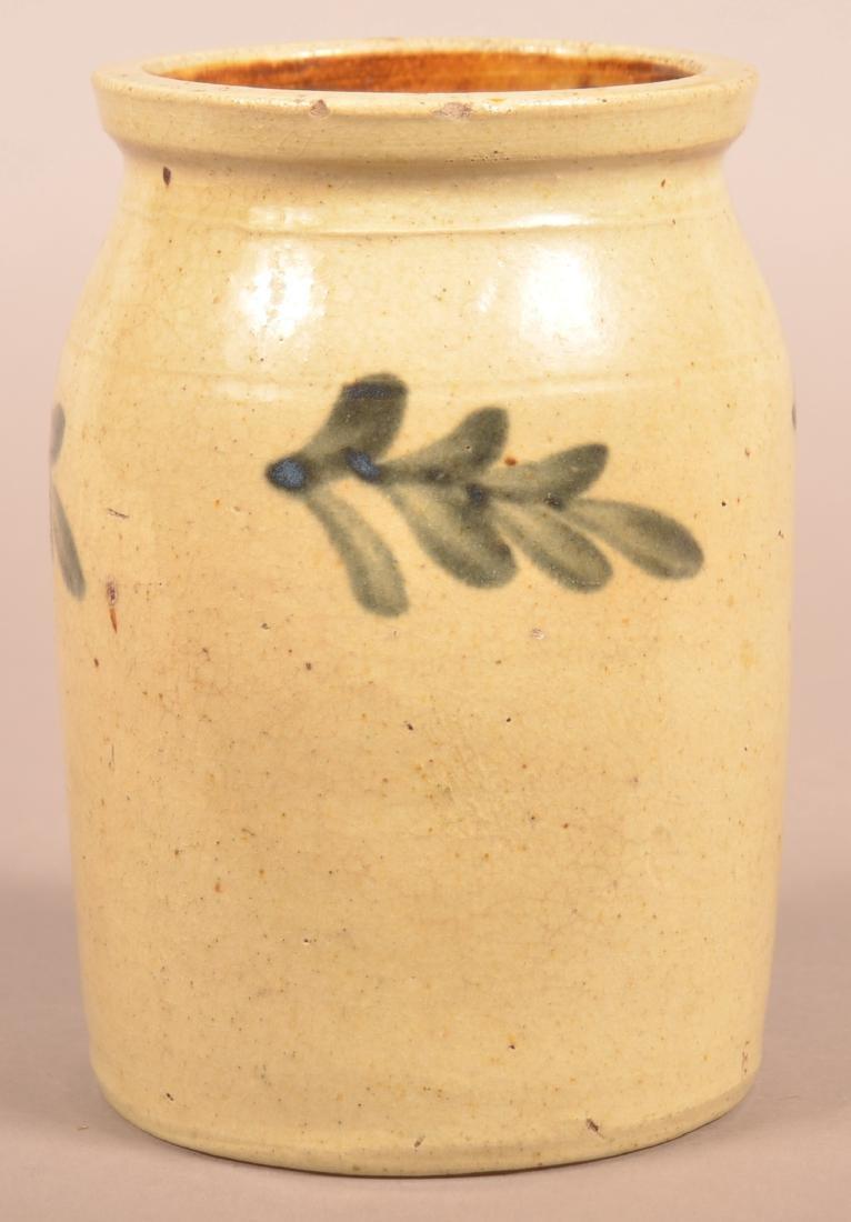 Unsigned 19th Century Stoneware Storage Jar. - 3