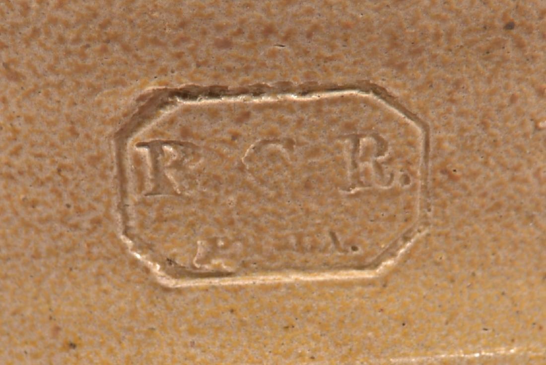 Remmey Stoneware Crock with Blue Foliate Decoration. - 3