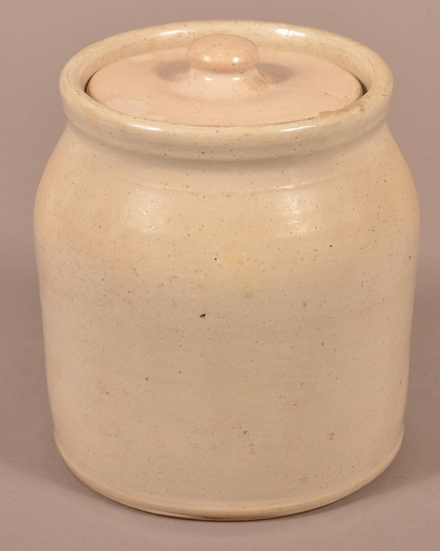 Demuth's Snuff Stoneware One Gallon Crock. - 2