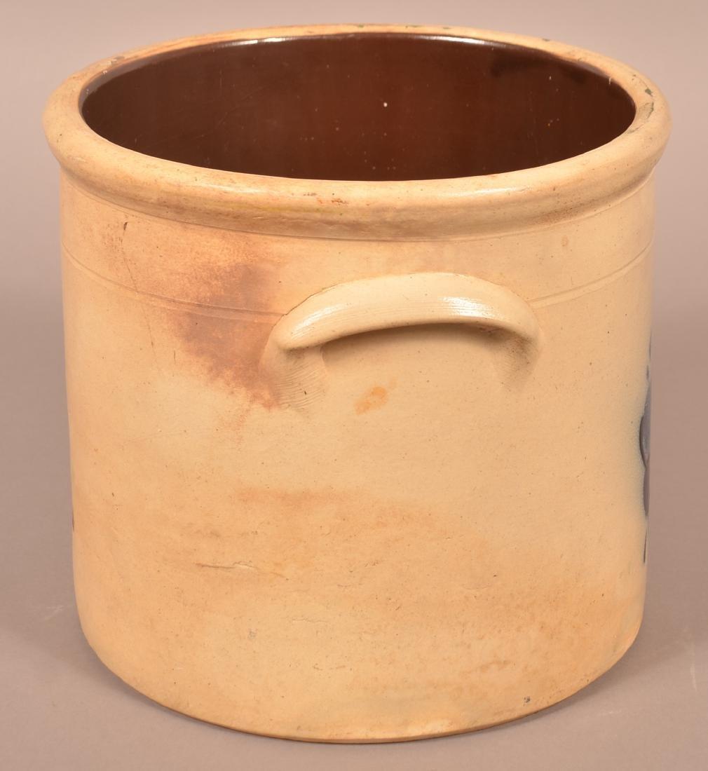 N.A. White & Son, Utica, N.Y. 3 Gallon Stoneware Crock. - 3