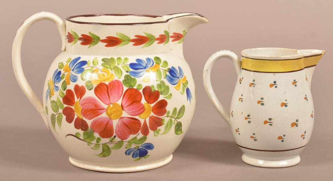 Two Early 19th Century English Soft Paste China