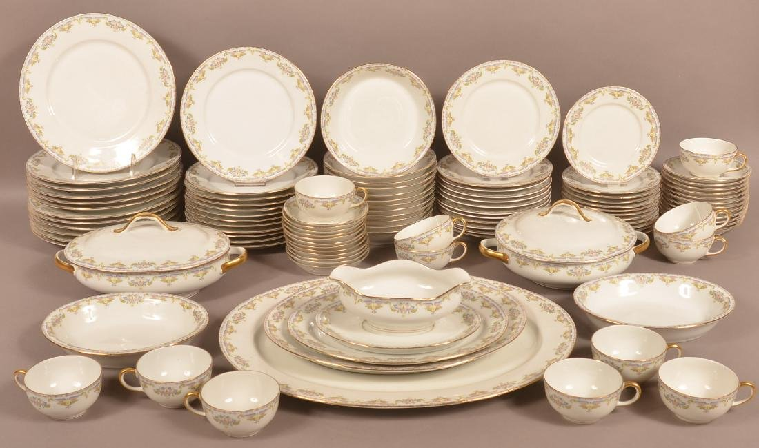 105 Pc. Wm. Guerin & Co., Limoges China Dinner Service.
