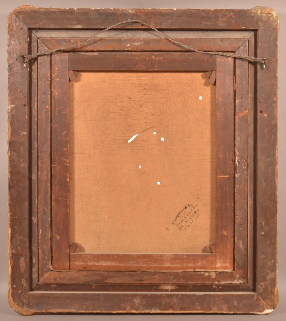 19th Century Oil on Canvas Portrait of a Gentleman. - 5