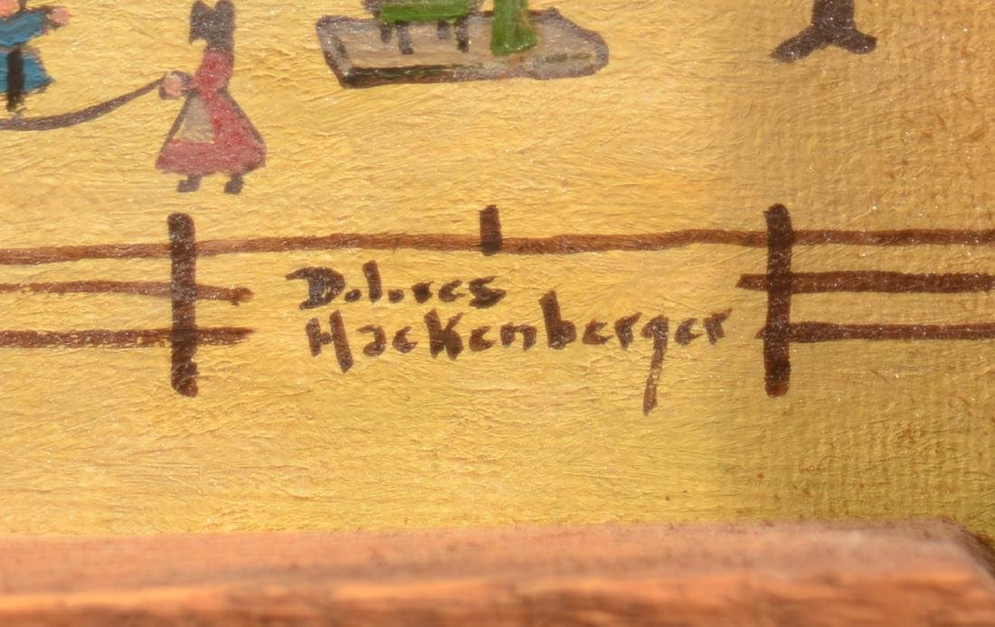Dolores Hackenberger Oil on Artist Board Painting. - 2