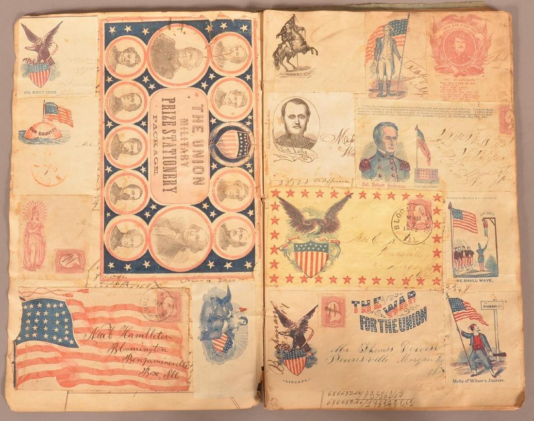Ohio Civil War Era Scrap Book.