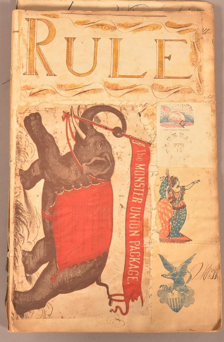 Ohio Civil War Era Scrap Book. - 2