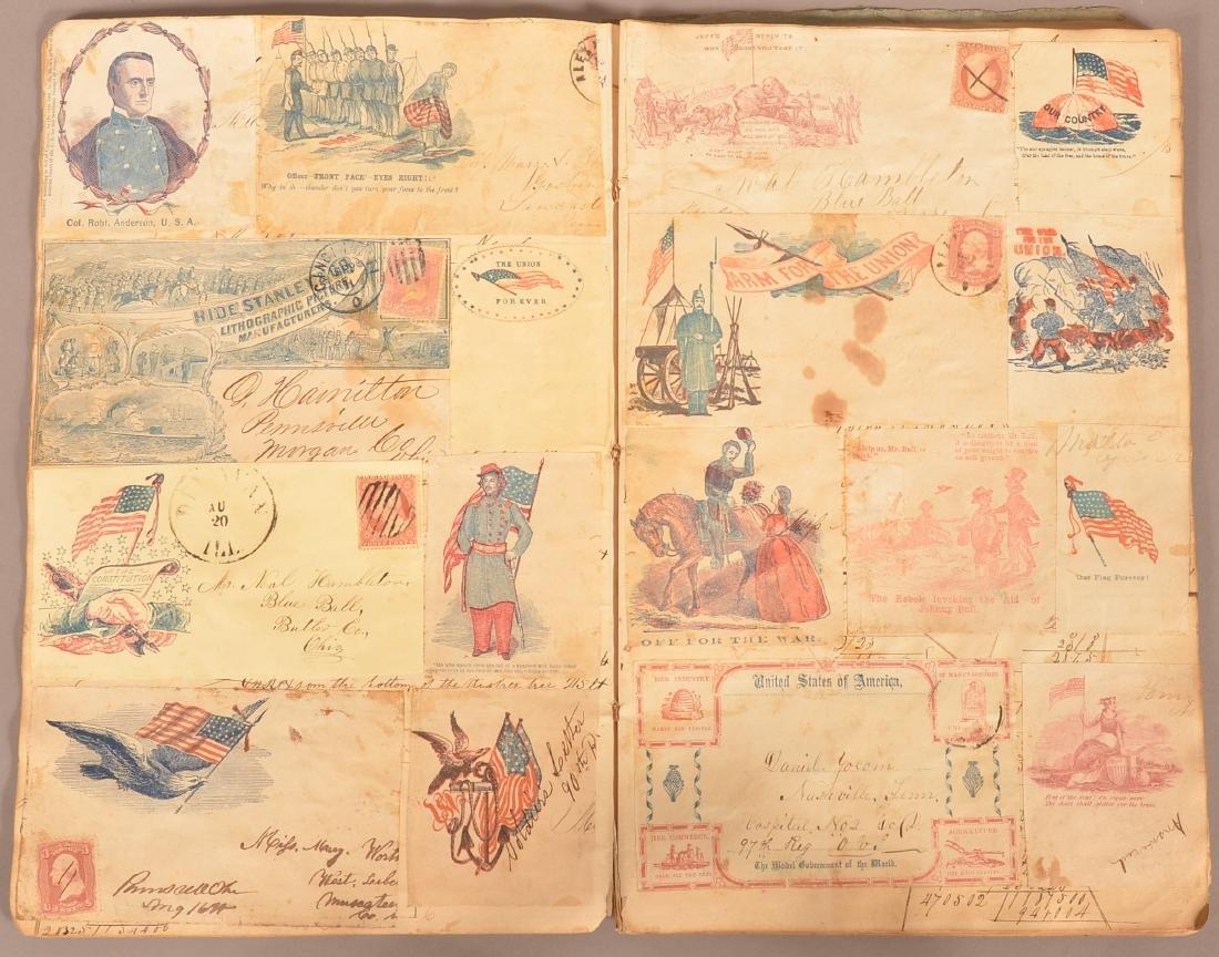 Ohio Civil War Era Scrap Book. - 3