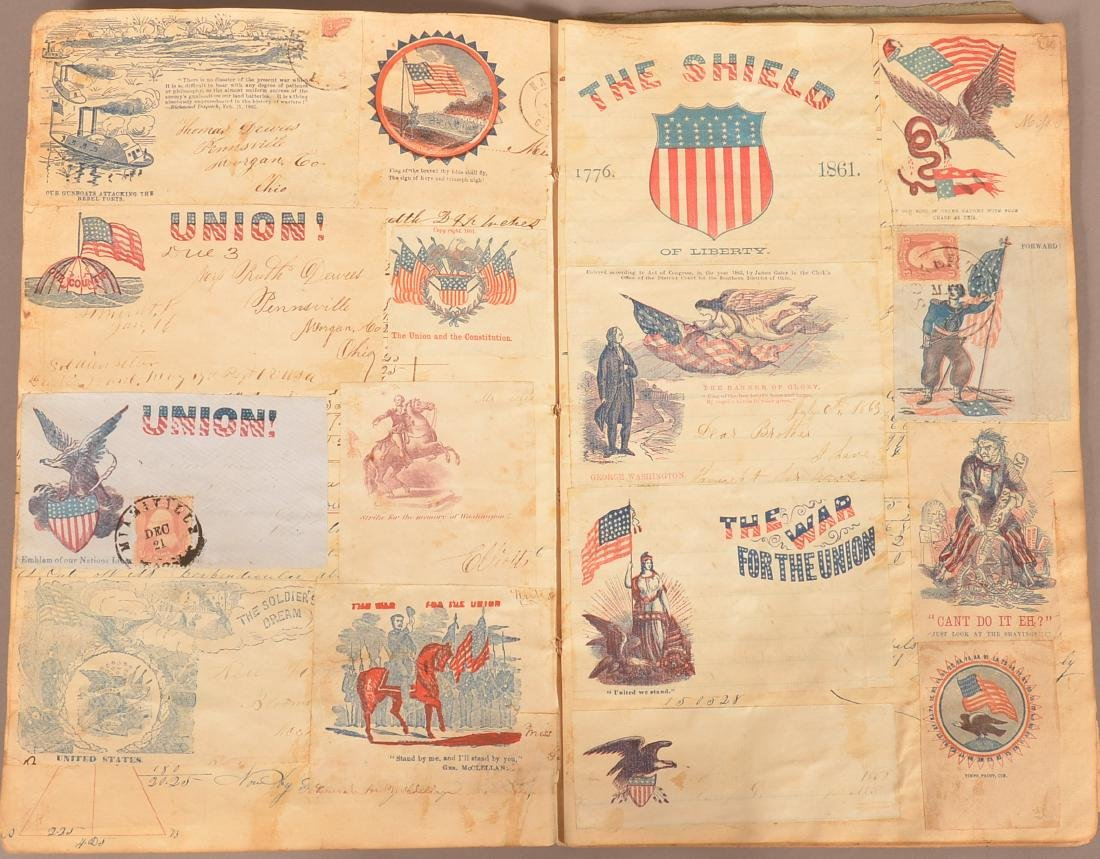 Ohio Civil War Era Scrap Book. - 4
