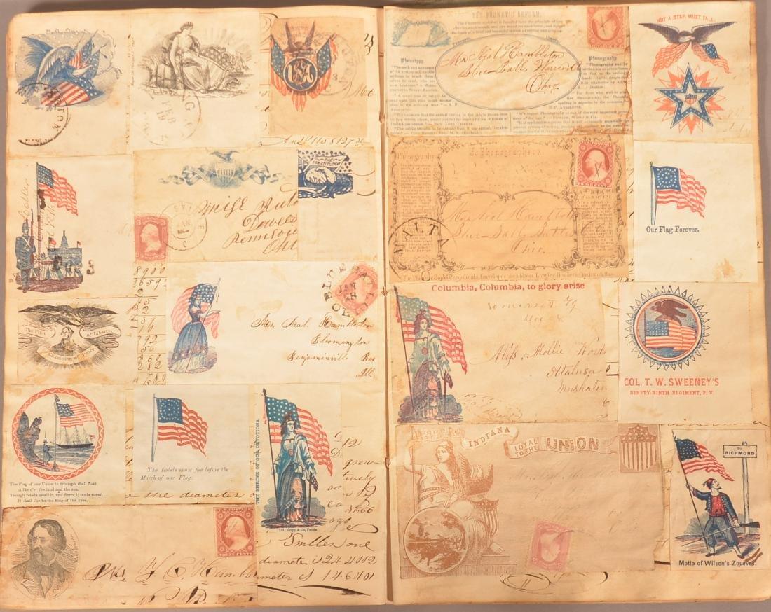 Ohio Civil War Era Scrap Book. - 5