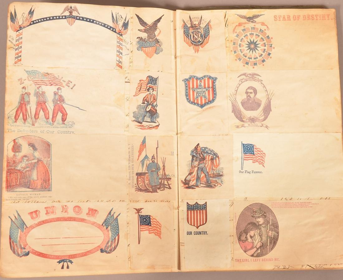 Ohio Civil War Era Scrap Book. - 6