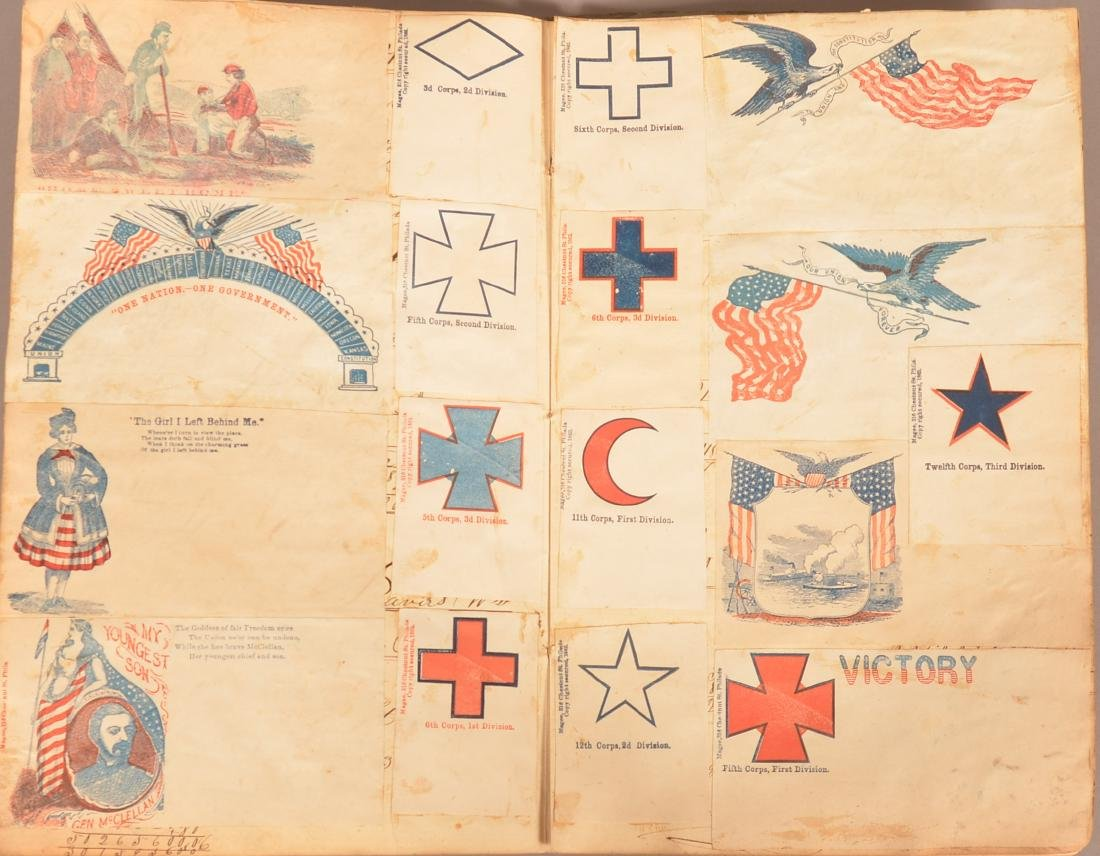 Ohio Civil War Era Scrap Book. - 7