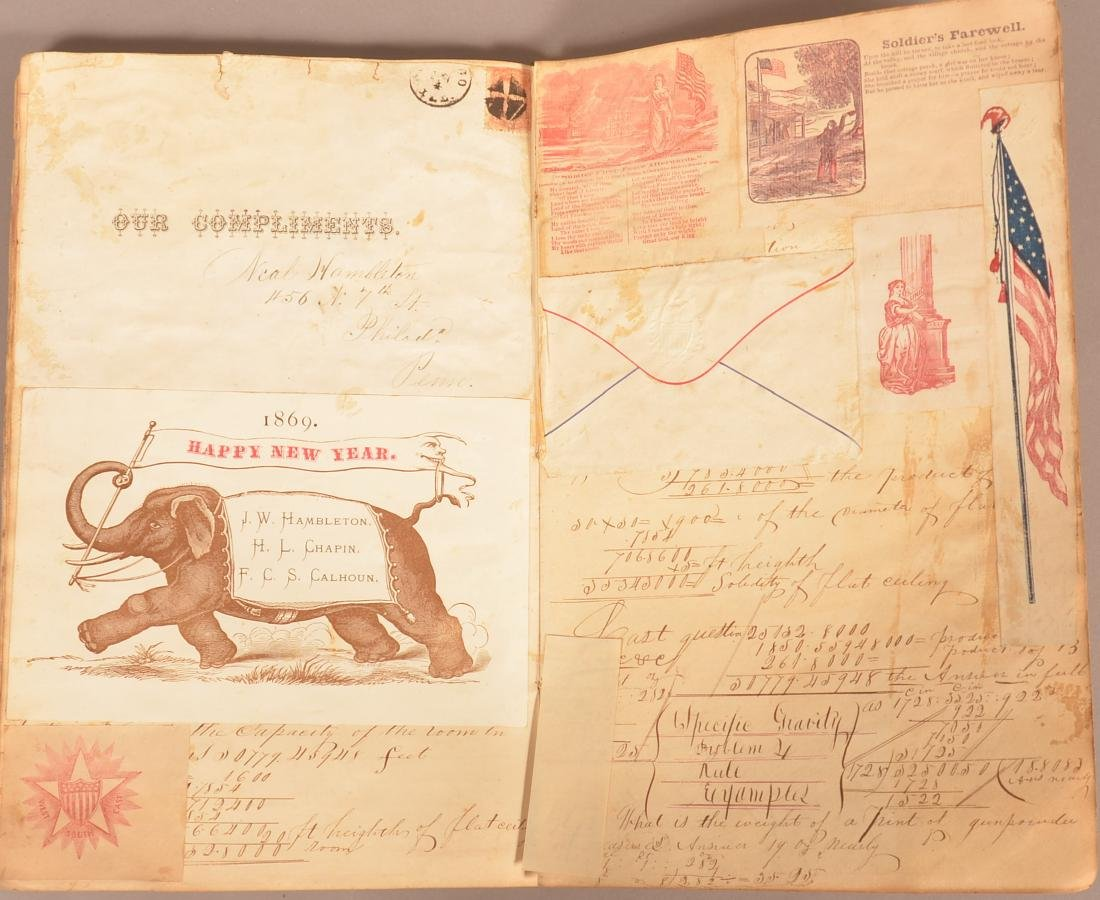 Ohio Civil War Era Scrap Book. - 8