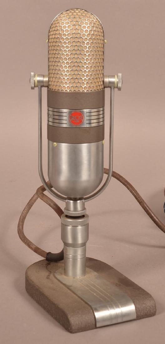 Art Deco RCA Broadcast Microphone Type 77-DX. - 2
