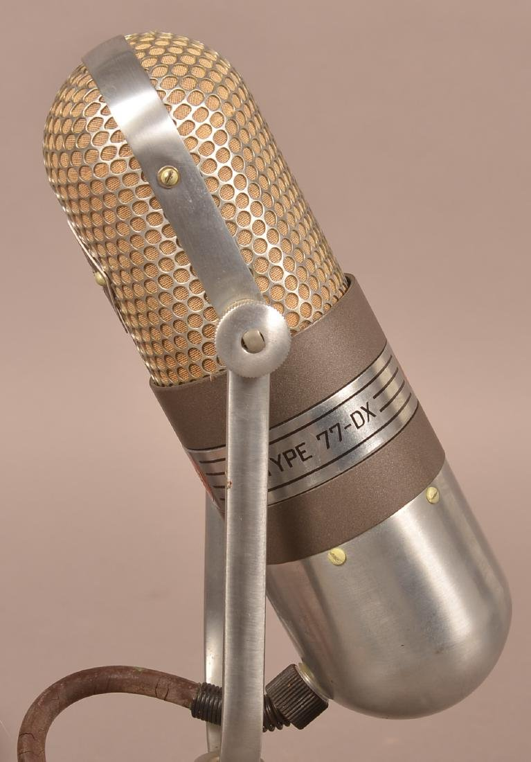 Art Deco RCA Broadcast Microphone Type 77-DX. - 5