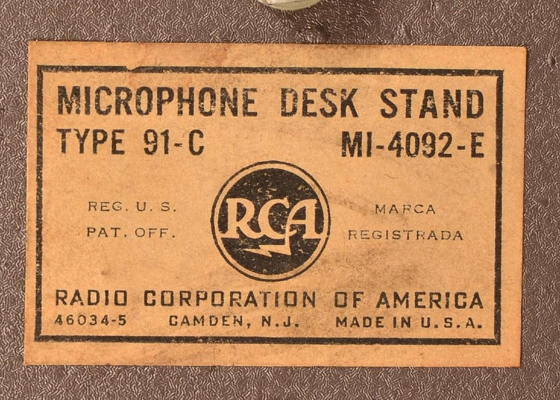 Art Deco RCA Broadcast Microphone Type 77-DX. - 6