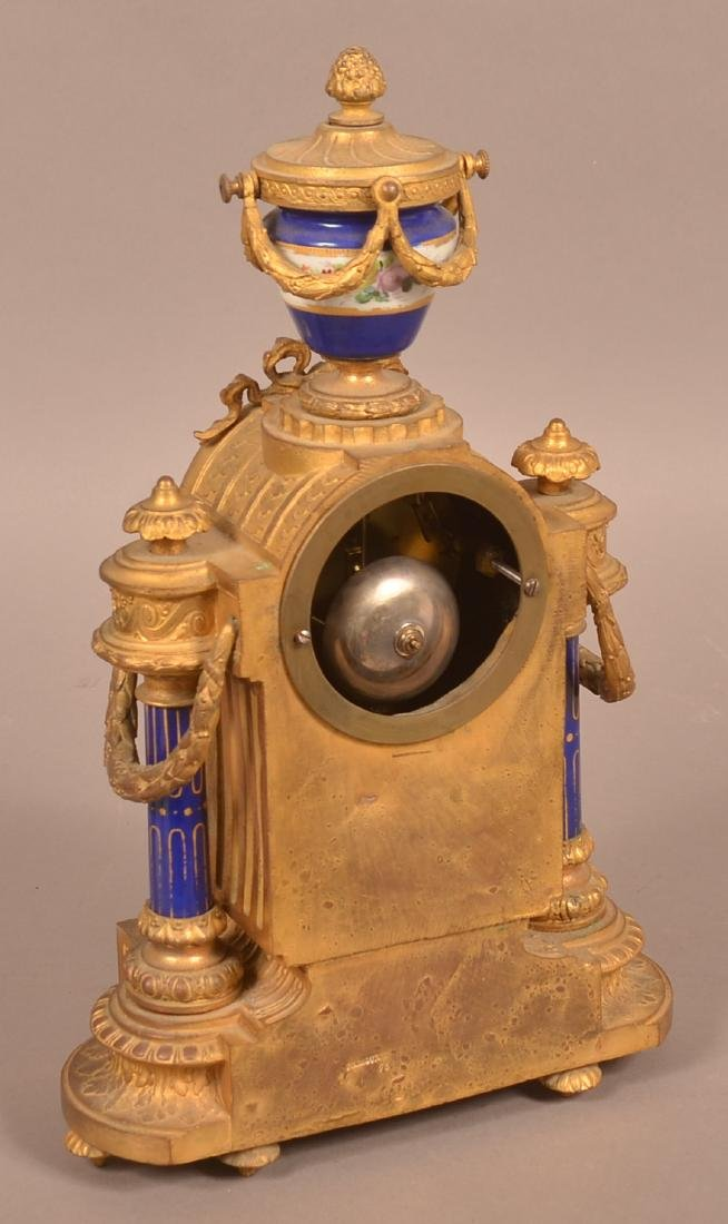 Louis XV-Style Japy Freres French Mantel Clock. - 3