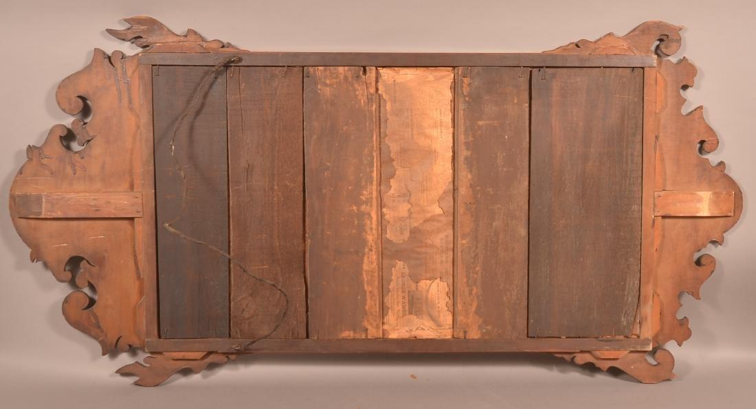 Chippendale Mahogany Mirror. - 4