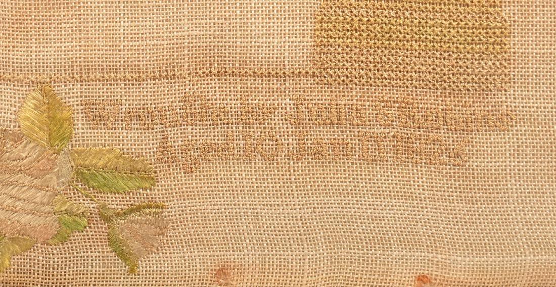 1826 Family Register Needlework Sampler. - 3