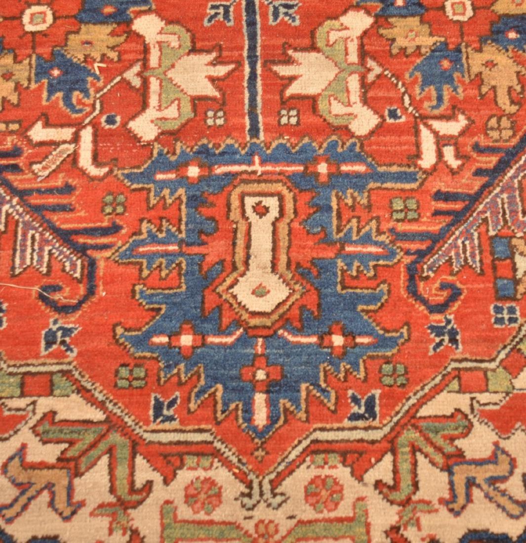 Antique Center Medallion Oriental Room Size Rug. - 6