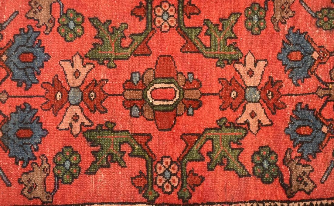 Antique Floral Pattern Oriental Area Rug. - 2