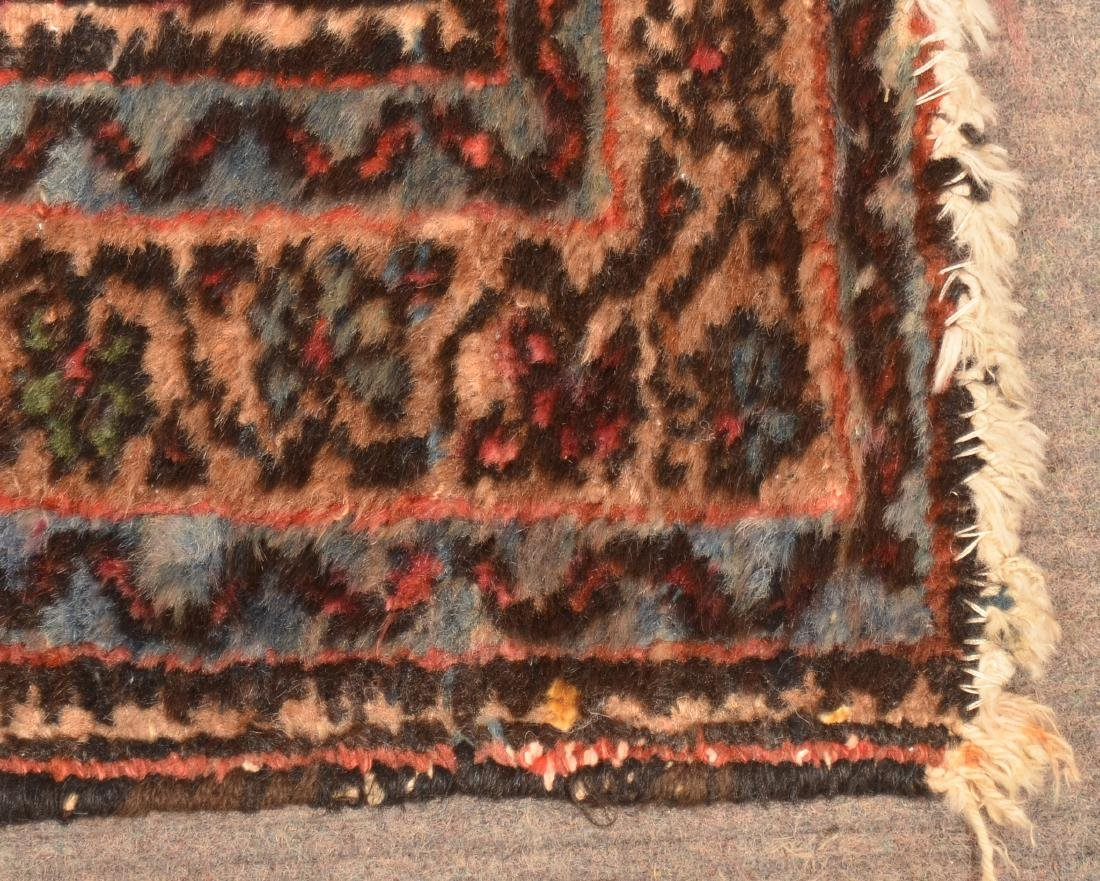 Antique Floral Pattern Oriental Area Rug. - 3