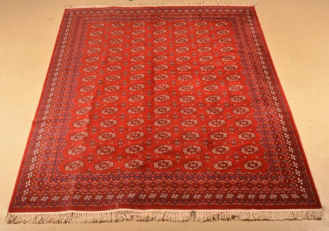 Modern Karastan Bokhara Pattern Room size Rug.